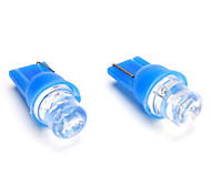 T10 1-LED Blue Light Bulb for Car Lamp (DC 12V, 2-Pack)