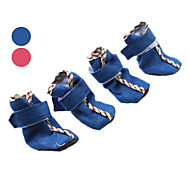 Nylon fastener tape Cozy Soft Boots Shoes for Dogs (Assorted Colors)