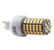 7W G9 LED-maïslampen T 138 SMD 3528 450 lm Warm wit AC 220-240 V