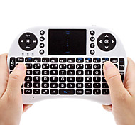 Mini Wireless QWERTY keyborad com touchpad Rato