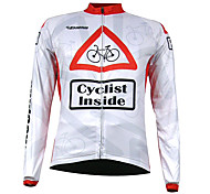 Kooplus Quick Dry Men Long Sleeve Cycling Jersey (Ciclismo Inside)