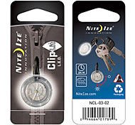 Nite Ize Bicycle ClipLit Safety Light (White,Red)
