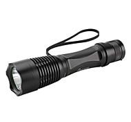 LED Flashlights / Handheld Flashlights LED 5 Mode 260 Lumens Rechargeable / Self-Defense / Super Light / Compact Size / Small SizeCree