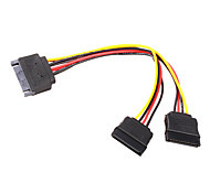 DB 15P to 2 DB 15P SATA Cable