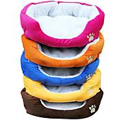 Cama de Perritos Con Forma de Huella Canina / Colores Surtidos, 50cm x 40cm x 16 cm