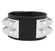 Huge Rivet Leather Bracelet
