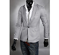 Men's Fashion Buckle Blazer