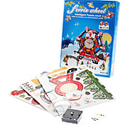 61 Pieces Christmas DIY 3D Puzzle Ferris Wheel Alarm (difficulty 4 of 5)