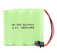 Ni-MH AA Battery with SM Port (4.8v, 1800 mAh)