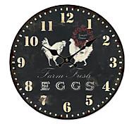 Country Animal Wall Clock