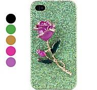 Rose Strass Hard Case für iPhone 4 und 4s (verschiedene Farben)