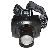 Outdoor Camping Stainless Steel Headlamp (Black)