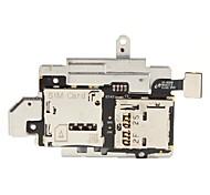 SIM de substituição e Memória Cartão de Memória Bandeja Suporte do Cabo Flex para Samsung Galaxy S3 I9300