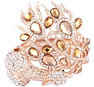 Phoenix Surround Crystal Inlaid Alloy Bracelet
