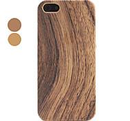 caso de madeira duro da superfície para o iphone 5/5s (cores sortidas)