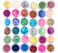 36pcs Colorful 3D Set Nail Decoration
