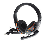2.0 USB Bass Stereo Over-Ear Headphones