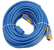Gold Plated VGA Male to Male Cable (1.5m)