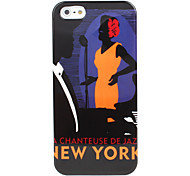 New York Pattern Hard Case for iPhone 5/5S