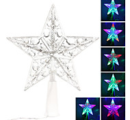 Star Shaped Colorful Light LED String Fairy Lamp for Christmas (220V)