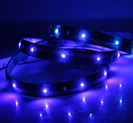 Impermeável 90 centímetros 36-LED azul LED Light Strip (12V)