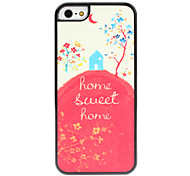 Sweet Home Pattern Hard Case for iPhone 5/5S