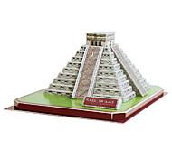 DIY Paper 3D Puzzle Maya Pyramid (50pcs, No.2801-D)