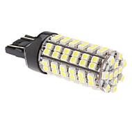 T20 (7443) 96x3528 SMD 5W 280LM luz blanca natural Bombilla LED para la lámpara de coches niebla (12V)