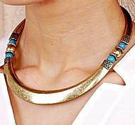 Women's Circle Vintage Necklace