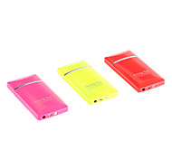 Fluorescence Color Windproof Metal Gas Lighter (Random Color)