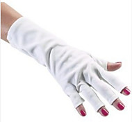 1pcs algodão UV prego Kit Proteção Luvas