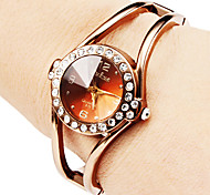 Women's Hollow Style Alloy Analog Quartz Bracelet Watch (Bronze) Cool Watches Unique Watches Fashion Watch