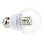 5W E26/E27 LED Kugelbirnen G60 27 SMD 5050 450 lm Natürliches Weiß AC 220-240 V