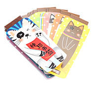 Children Stationery Lovely Cat Design Bookmark Label (20-Pack)