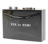 VGA to V1.3 HDMI Converter with Audio