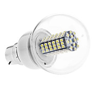 B22 LED Globe Bulbs G60 102 SMD 3528 420 lm Natural White AC 110-130 / AC 220-240 V