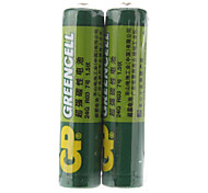 GP Greencell 1.5V AAA batería (2-Pack)