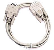 Fêmea para fêmea DB cabo de porta serial 9 pinos Conexão (1,5 m)