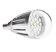 Lâmpada Redonda E14 3.5 W 320 LM 6000K K Branco Quente/Branco Frio 21 SMD 5050 AC 220-240/AC 110-130 V A