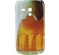Bier Pattern Hard Case voor Samsung Galaxy S3 Mini I8190