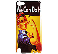 Case Pattern Energy Woman dur pour iTouch 5