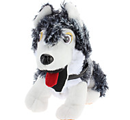 Singing and Dancing Toy Crazy Shaking Head Plush Sled Dog (3xAA)