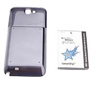 3.7v, 6000 mAh ismartdigi-N7100WH & Case Blue Note Samsung Galaxy 2 N7108 N7102 N719