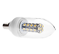 E14 6 W 30 SMD 5050 450 LM Warm White C Decorative Candle Bulbs AC 85-265 V