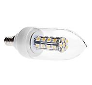 Lâmpada Vela Decorativa E14 6 W 450 LM 3000K K Branco Quente 30 SMD 5050 AC 85-265 V C