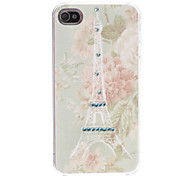 Paris Eiffel Tower Pattern Hard Case for iPhone 4/4S