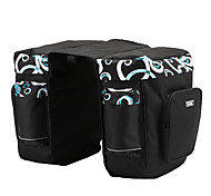 600D / PVC Waterproof 37L Double Side Carriage Pack (Blue/White)