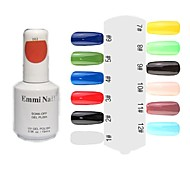 UV Color Gel Colorful Nail Polish (15ml,1 Bottle)