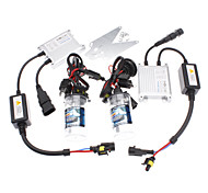 12V 35W H4-2 8000K lampada Xenon HID Conversion Kit Set (Luminanza: 2900LM)