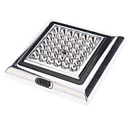 42-LED White Light Square Car Indoor Leselampe (12V)